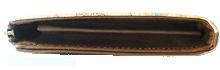 L字ファスナーマチ付き長財布の厚み