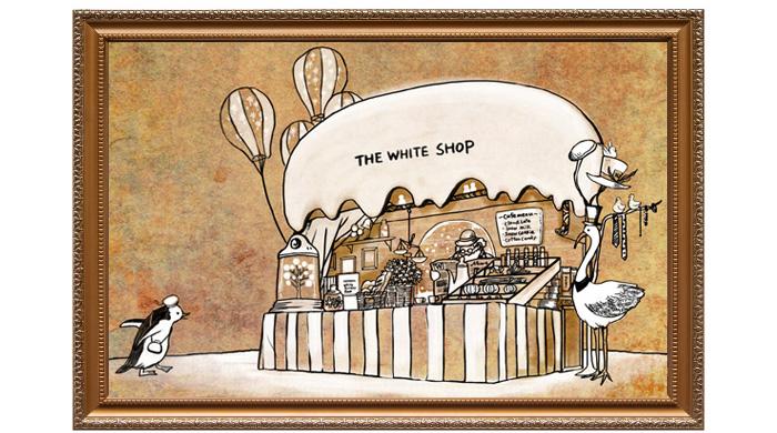 ホワイトショップのデザイン原画