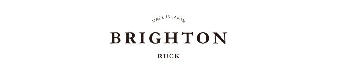 BRIGHTON RUCK MADE IN JAPAN