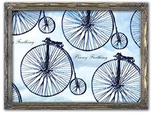 自転車柄  のアイテム一覧ページへ移動する