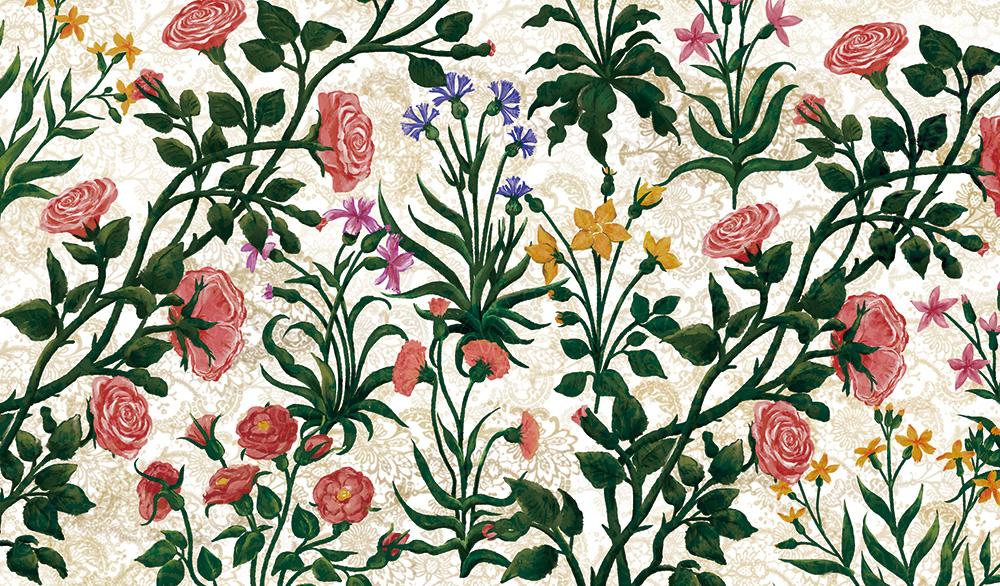 サンドロ・ボッティチェリ「Primavera(春)」 HIRAMEKI. original design