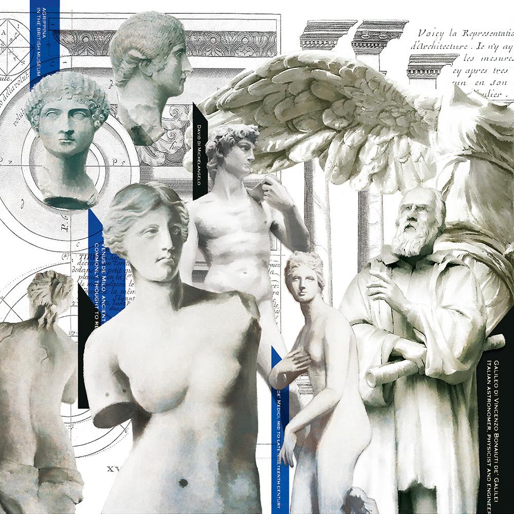 ヒラメキオリジナルデザイン「彫刻ミュージアム」 HIRAMEKI. original design