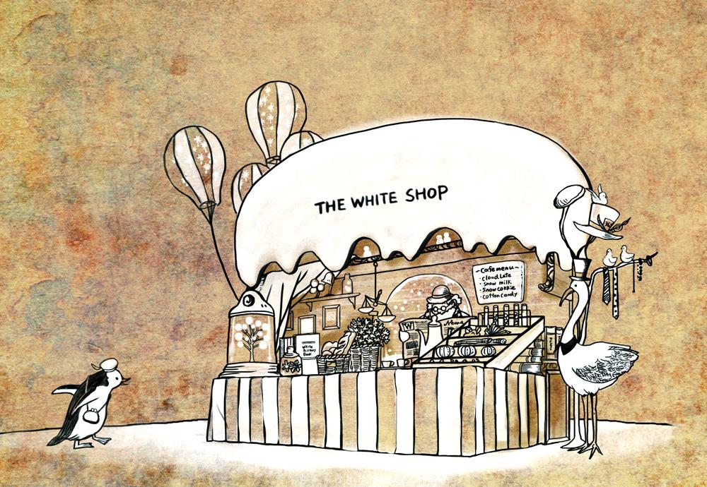 デザイン:WHITE SHOP「ホワイトショップ」