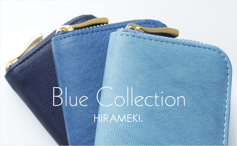 Blue Collection HIRAMEKI.