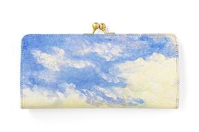 ホワイトキャンバス スリムガマグチ長財布 空柄の商品ページへ移動する