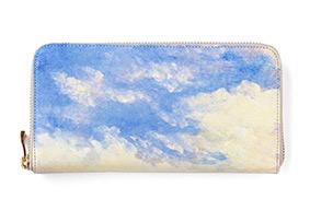 ホワイトキャンバス ラウンドファスナー長財布 空柄の商品ページへ移動する