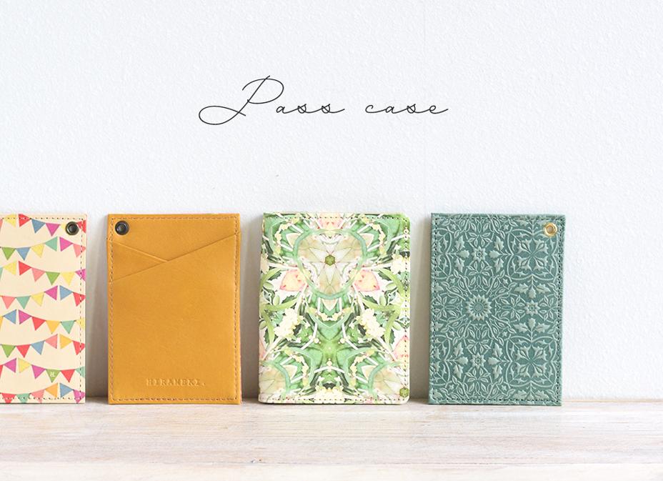 HIRAMEKI. Pass Case Collection 2019