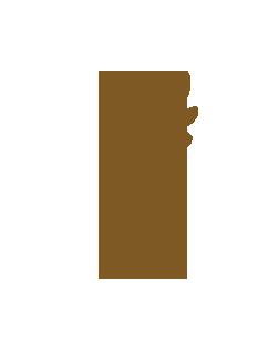 ブラウンの葉