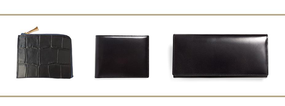 ブラックのお財布