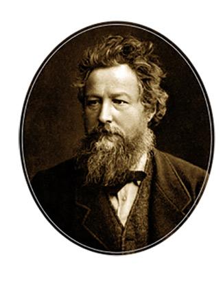 ウィリアム・モリスの肖像写真
