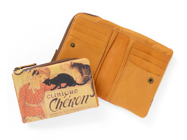 L型ファスナー折り財布