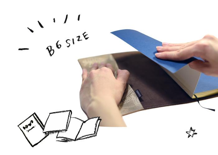 B6 size