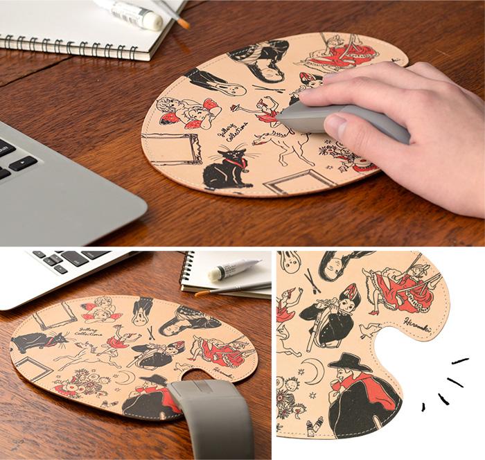 マウスパッド ギャラリー の使用イメージ