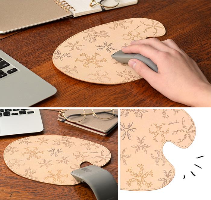 マウスパッド ツノ の使用イメージ