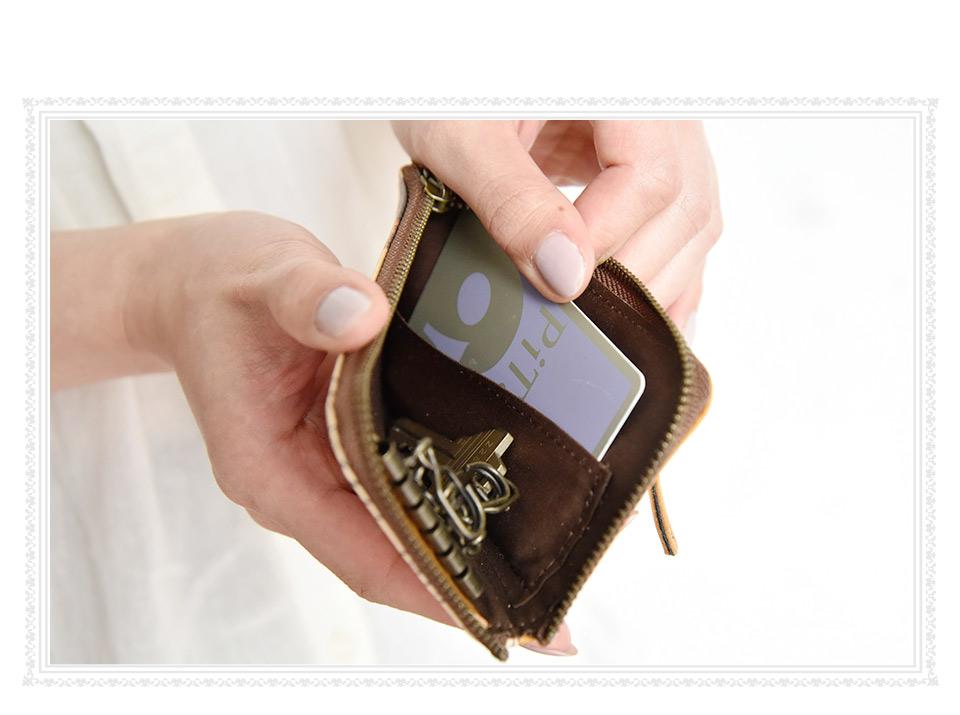 内側のカードポケット使用イメージ