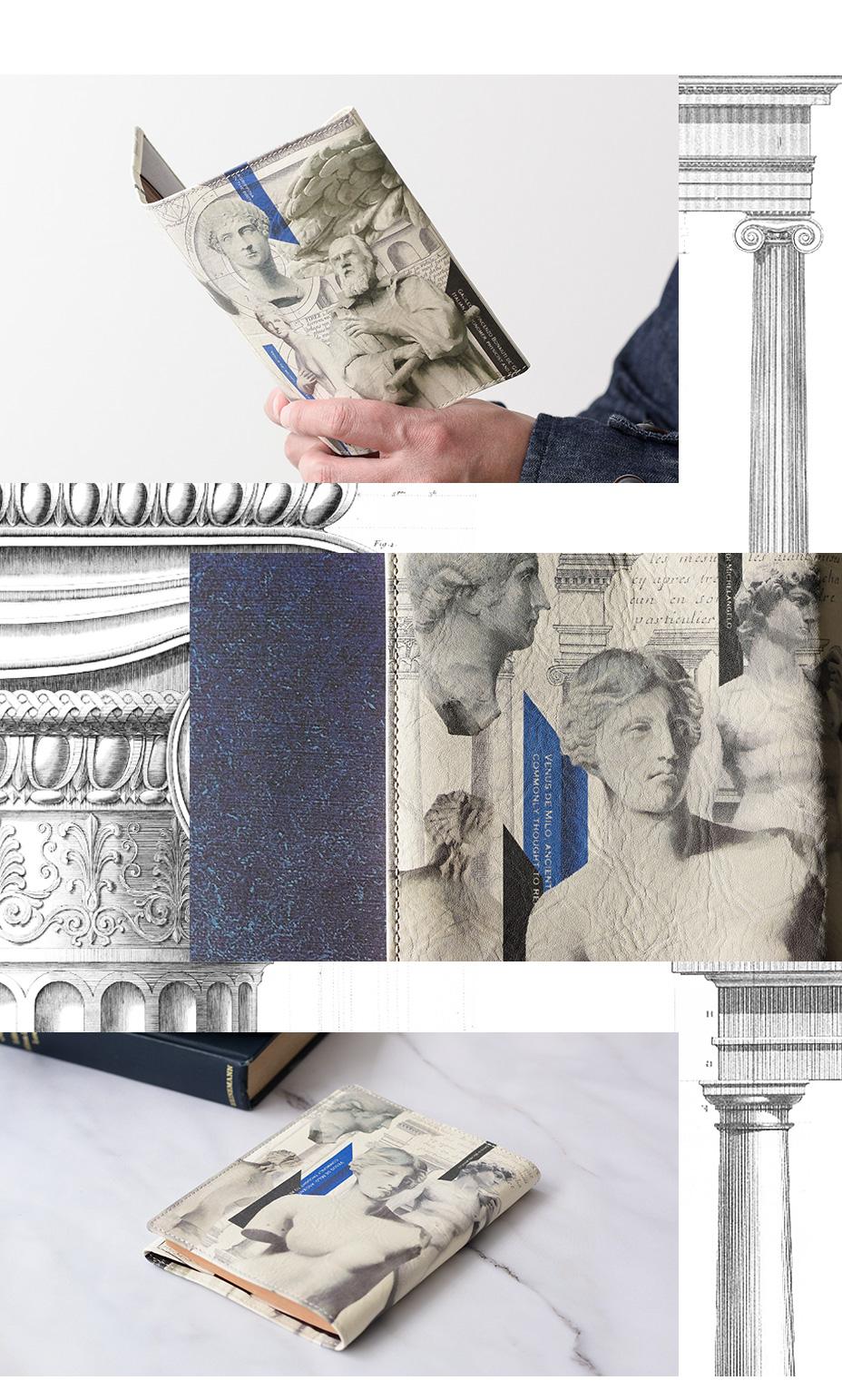 彫刻ミュージアム ブックカバー(文庫本サイズ)
