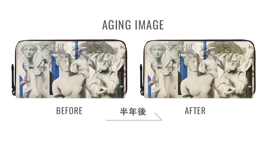 約半年後のエイジング(経年変化)イメージ