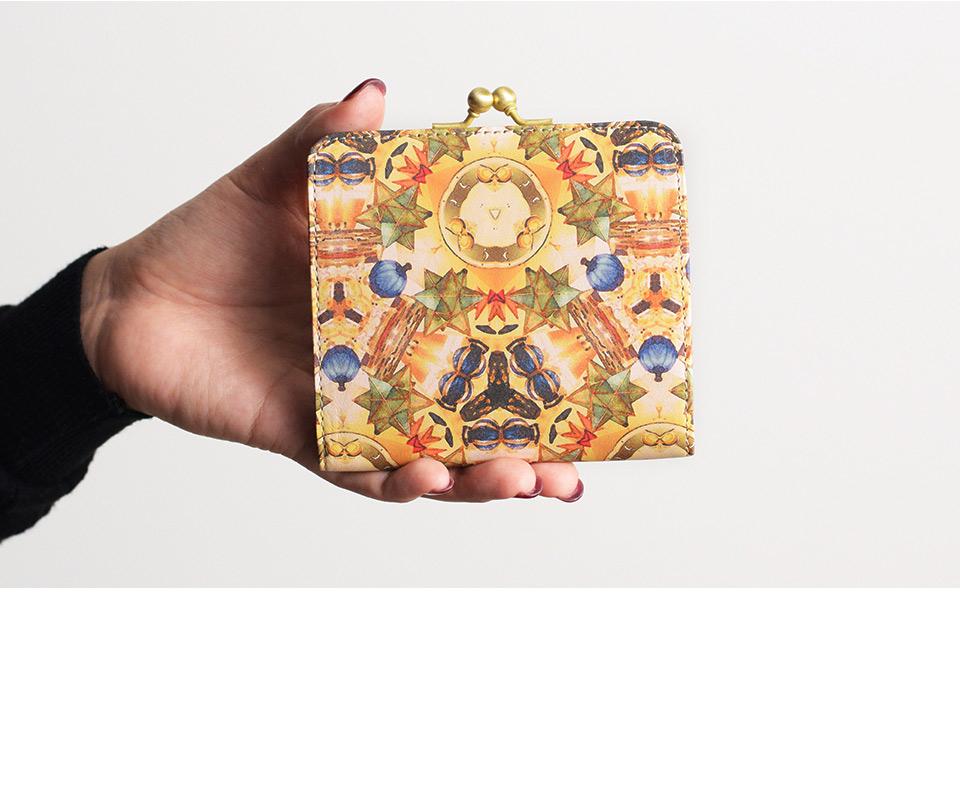 ガマグチ財布 ステラ