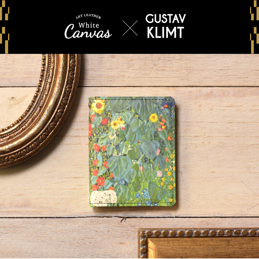 Art Leather White Canvas × GUSTAV KLIMT
