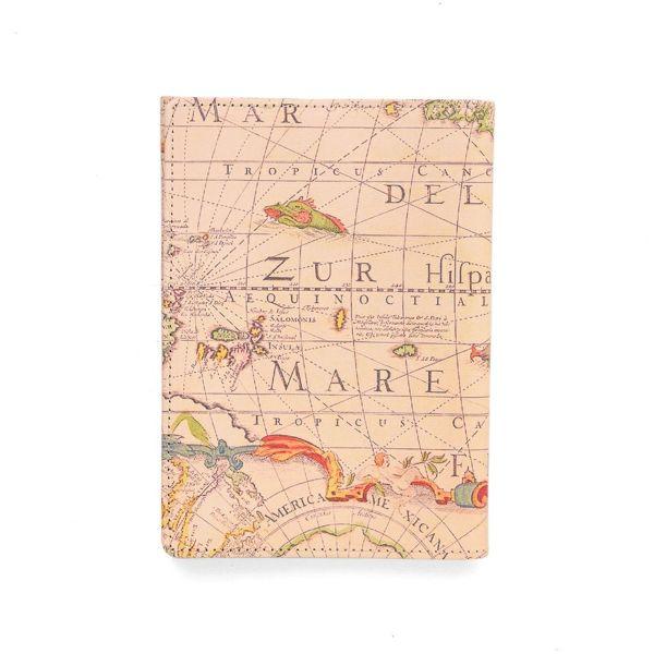 ブックカバー (文庫本サイズ) アンティークマップ
