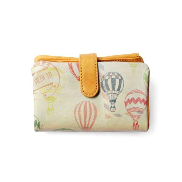 ベロ付き折り財布「バルーン」