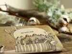 上質なヌメ革に、アートなデザインを直接施した アートヌメレザーシリーズの、ラウンド ファスナー長財布です。