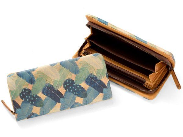 長財布「フェザーカーテン」