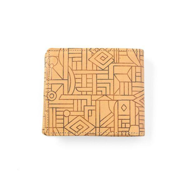 アートヌメレザー◆二つ折り財布 ザイール