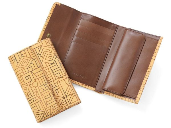 長三つ折り財布 ザイール