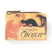 L型ファスナー折り財布「スタンラン イヌネコ」の表写真です。