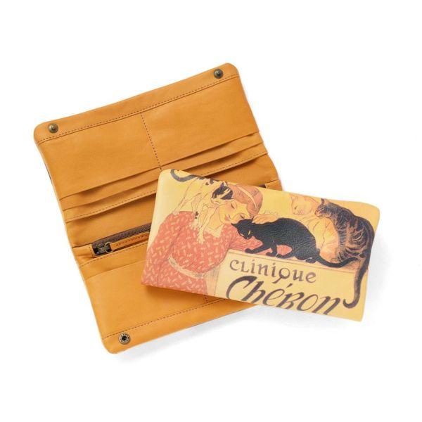 長財布「スタンラン イヌネコ」の白抜き写真です。